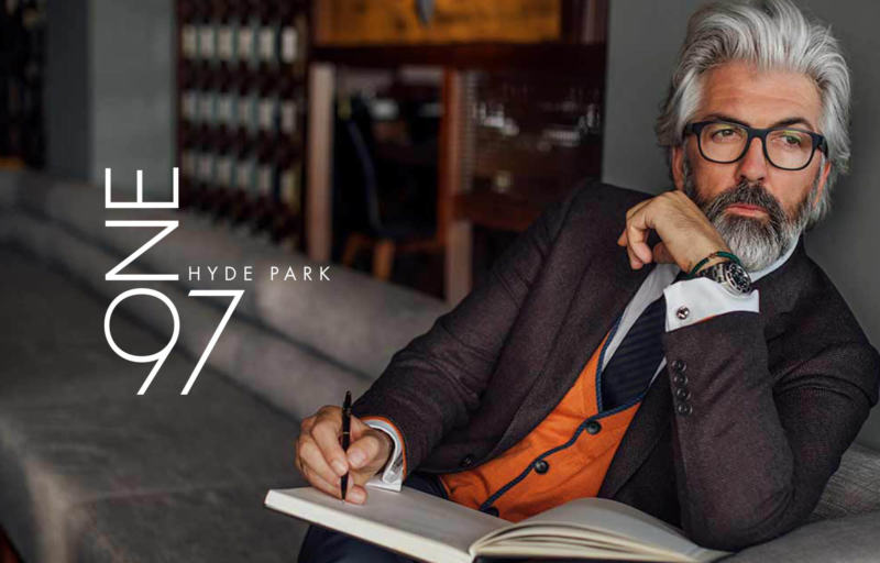 ONE97 Hyde Park Brand Identity and Advertising